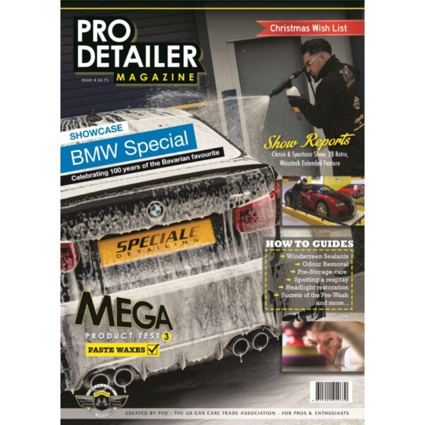 PRO Detailer Magazine – Nr. 4-2016 – Front Cover