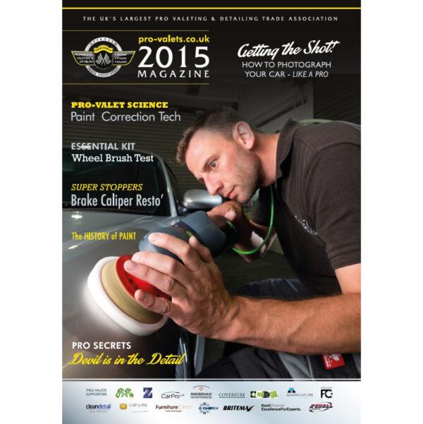 PRO Detailer Magazine - Nr. 1-2015 - Front Cover