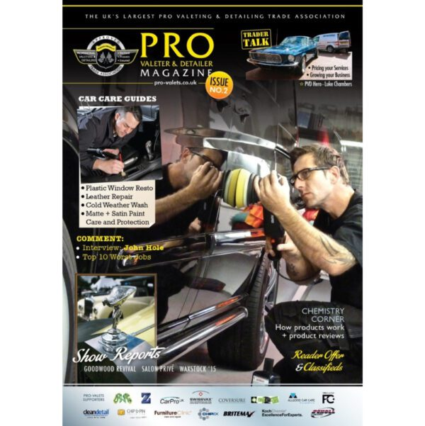 PRO Detailer Magazine – Nr. 2-2016 – Front Cover