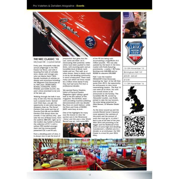 PRO Detailer Magazine - Nr. 2-2016 - Events