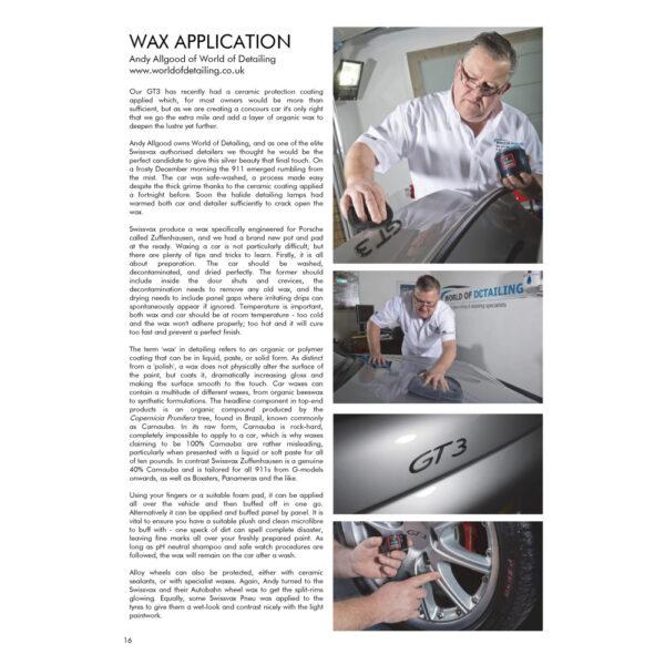 PRO Detailer Magazine - Nr. 1-2015 - Wax Application