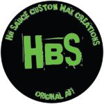 HBS Custom Wax Logo
