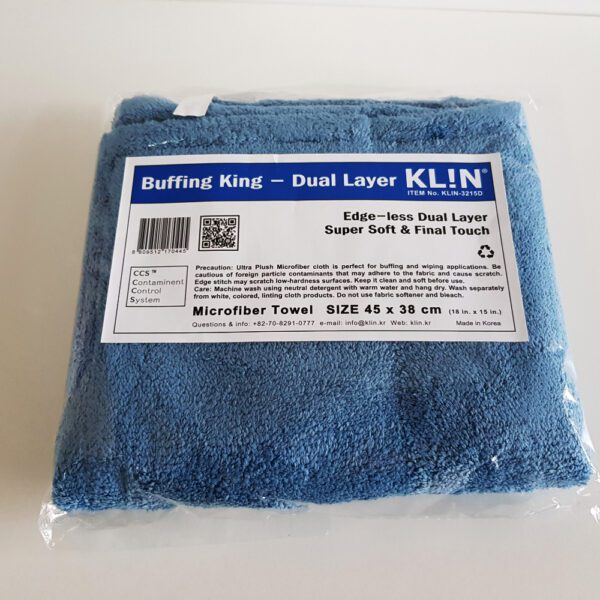 Klin Korea – Buffing King – 45 x 38 cm – Dual Layer Super Soft