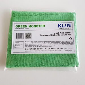 Klin Korea - Green Monster - 40 x 36 cm - Wheel & Engine Cleaner