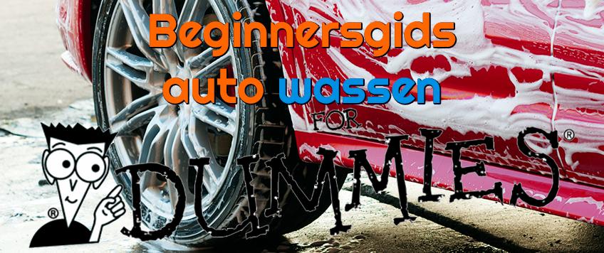 Beginnersgids auto wassen