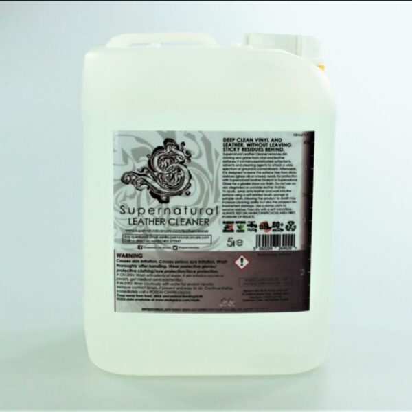 Supernatural – Leather Cleaner – 5000ml