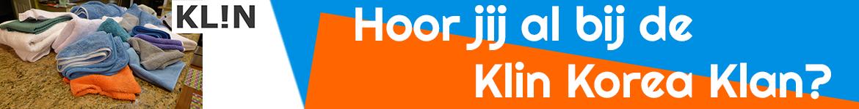 Banner voor Klin Korea